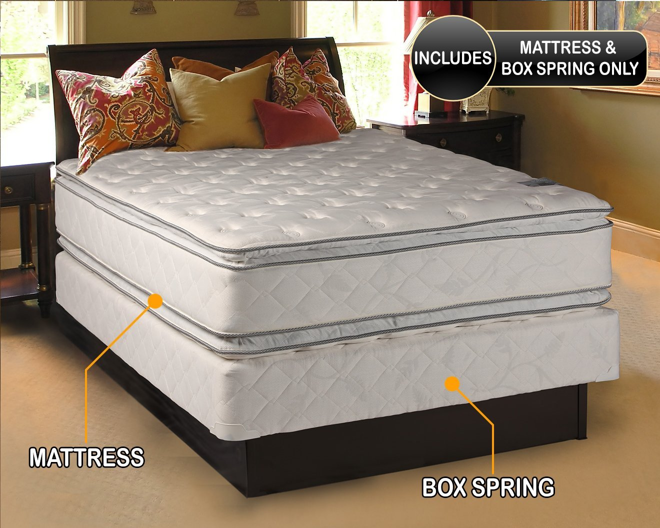 Dream Solutions Medium Soft Pillowtop Ny Mattress