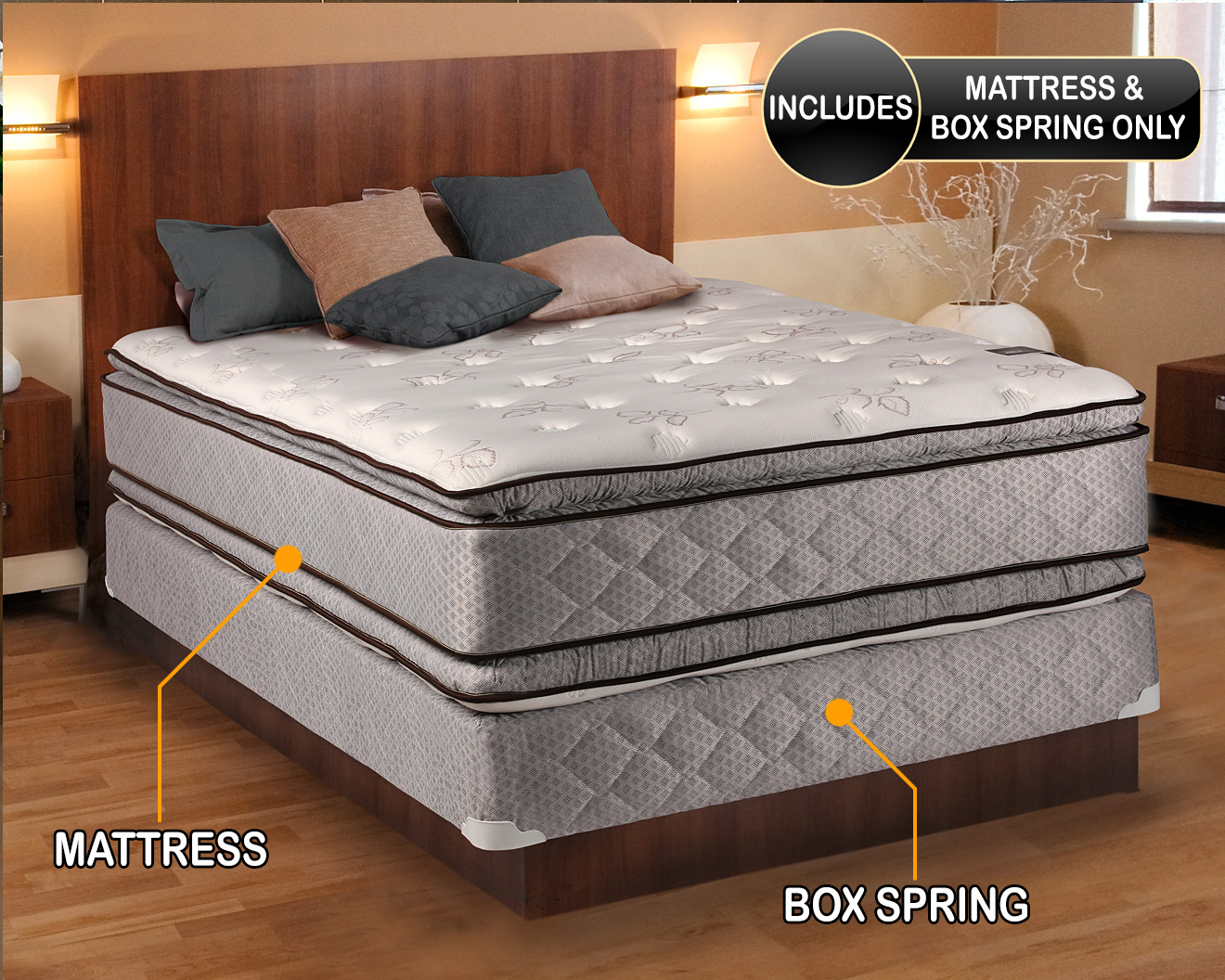 Hollywood Double Sided Pillowtop Ny Mattress